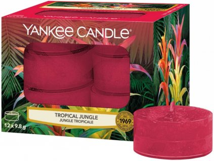 yankee candle tropical jungle cajovka