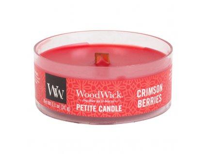 10475 woodwick petite candle vonna svicka cervena jerabina