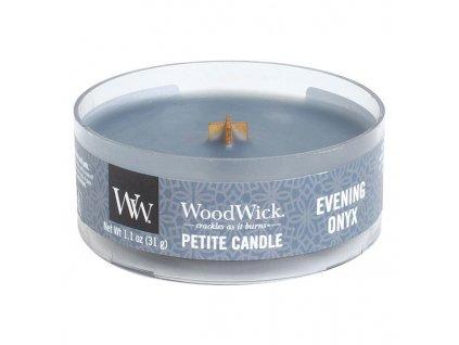10499 woodwick petite candle vonna svicka vecerni onyx