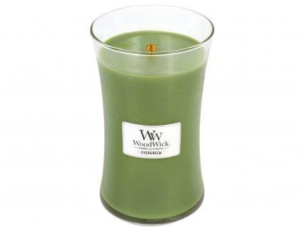 woodwick evergreen velka