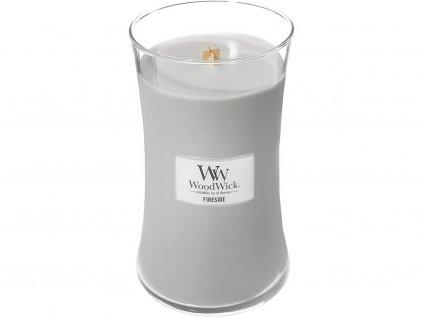woodwick fireside velka
