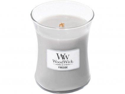 woodwick fireside stredni