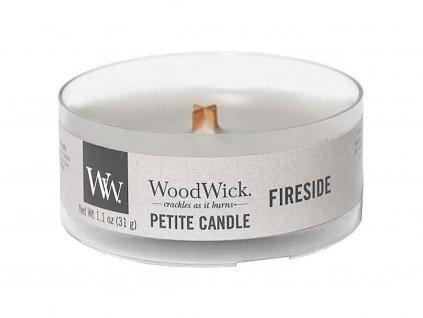 10541 woodwick petite candle vonna svicka ohen v krbu