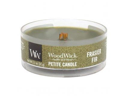 10553 woodwick petite candle vonna svicka jedle