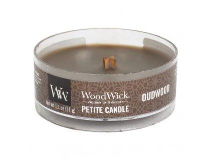 10625 woodwick petite candle vonna svicka pryskyrice