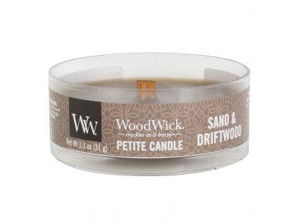 10655 woodwick petite candle vonna svicka pisek a naplavene drivi