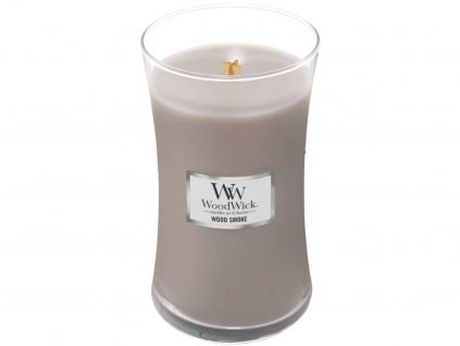 woodwick wood smoke velka