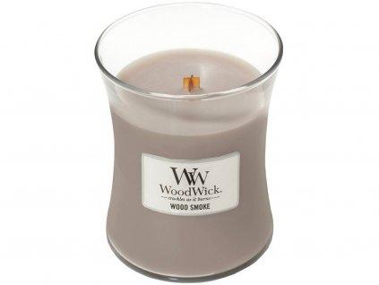 woodwick wood smoke stredni