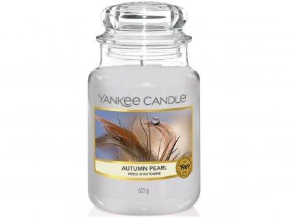 yankee candle autumn pearl velka