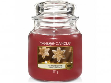 yankee candle glittering star stredni