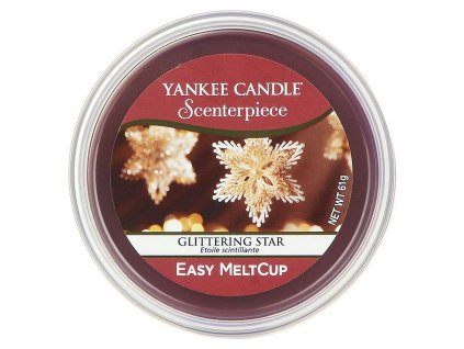 11171 yankee candle vosk glittering star easy meltcup