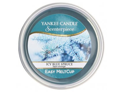 11213 yankee candle vosk icy blue spruce easy meltcup