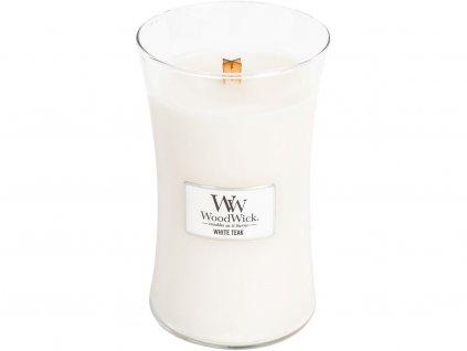 woodwick white teak velka