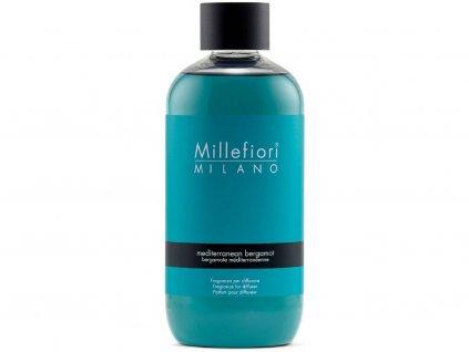 11633 millefiori milano natural napln do difuzeru mediterranean bergamot 250 ml