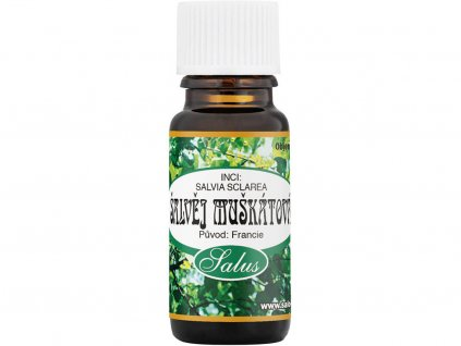 13868 saloos esencialni olej salvej muskatova 5 ml