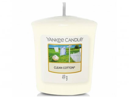 yankee candle clean cotton votivni