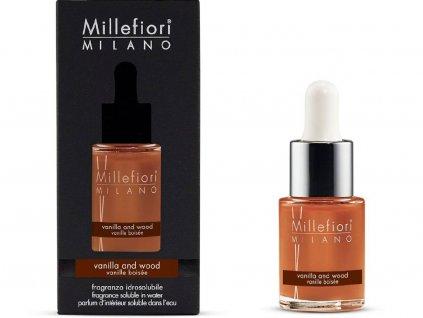 14321 millefiori natural vonny olej vanilka a drevo 15 ml
