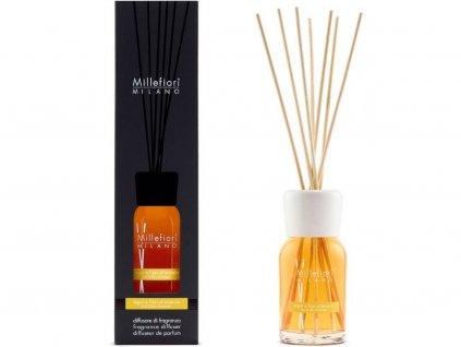 14372 millefiori natural aroma difuzer drevo a pomerancove kvety 100 ml