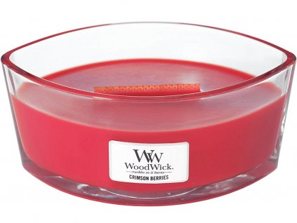 woodwick crimson berries svicka lodicka
