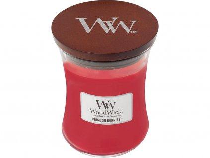 14675 woodwick vonna svicka cervena jerabina 275 g