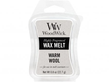 woodwick warm wool vosk