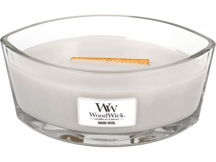 woodwick warm wool svicka lodicka