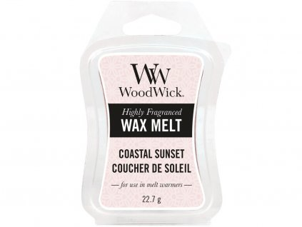woodwick coastal sunset vosk