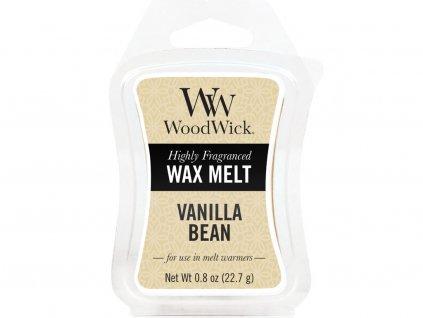 woodwick vanilla bean vosk