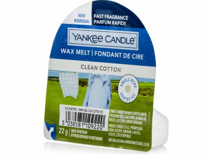 yankee candle clean cotton vosk