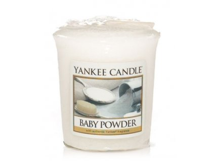15119 yankee candle votivni svicka baby powder