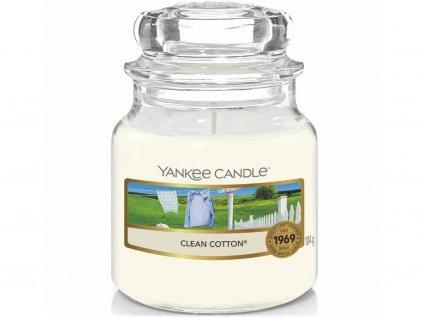 yankee candle clean cotton mala