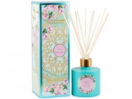 16322 1 max benjamin amalfi aroma difuzer fiori rosa 150 ml