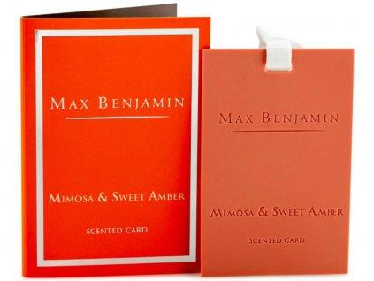 max benjamin mimosa sweet amber karta