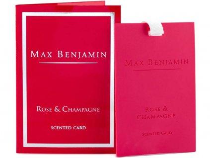max benjamin rose champagne karta