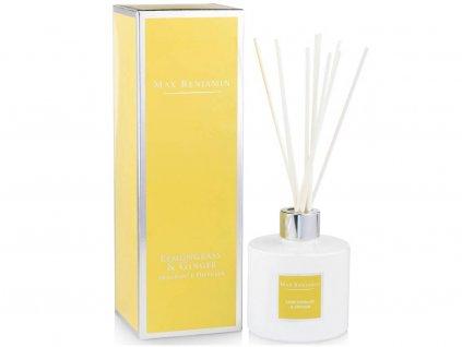 16475 1 max benjamin classic aroma difuzer lemongrass ginger 150 ml