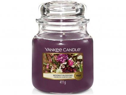 yankee candle moonlit blossom stredni