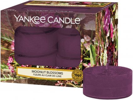 yankee candle cajove svicky moonlit blossoms