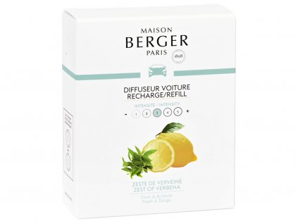 maison berger paris napln vune do auta zest of verbena