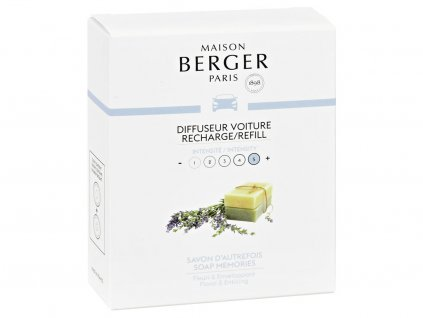 maison berger paris napln vune do auta soap memories
