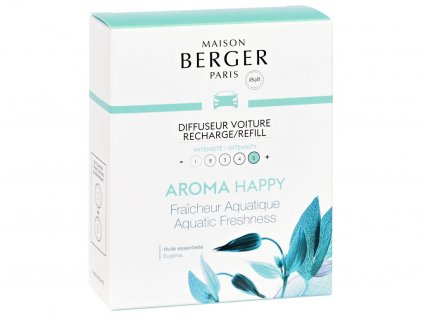 maison berger paris aroma happy napln vune do auta aquatic freshness