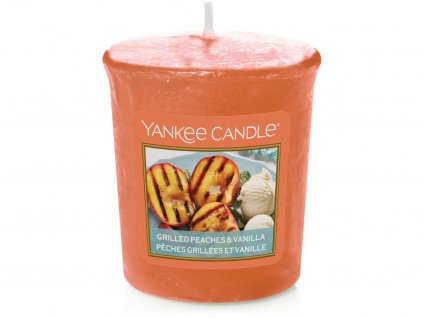 yankee candle grilled peaches vanilla votivni