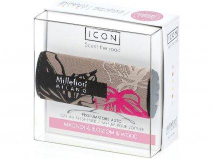 millefiori milano icon textile floral magnolia blossom wood