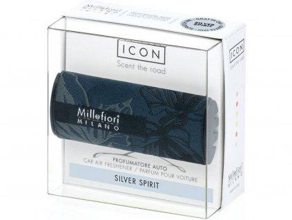 millefiori textil floral silver spirit