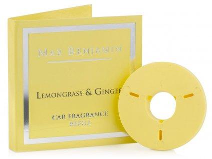 max benjamin napln vune do auta lemongrass ginger