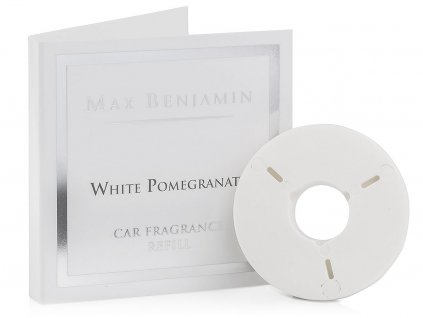 max benjamin napln vune do auta white pomegranate