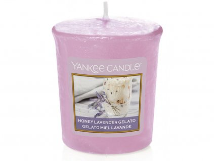 yankee candle honey lavender gelato votivni