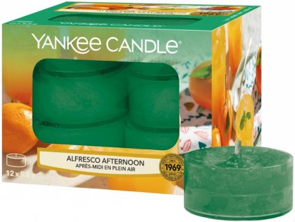 yankee candle alfresco afternoon cajovka
