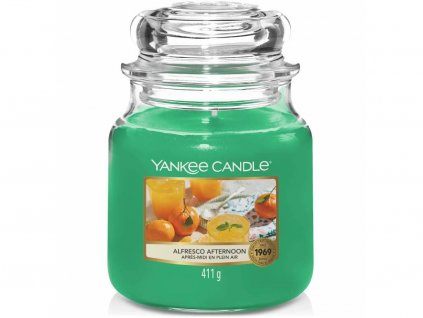 yankee candle alfresco afternoon stredni