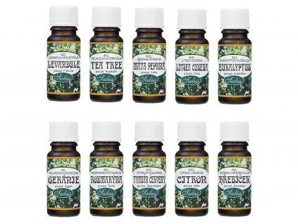 saloos zakladni sada esencialnich oleju pro aromaterapii