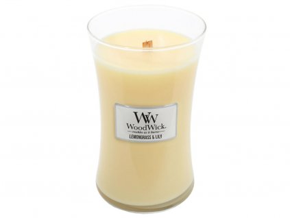 woodwick lemongrass lilly velka 1